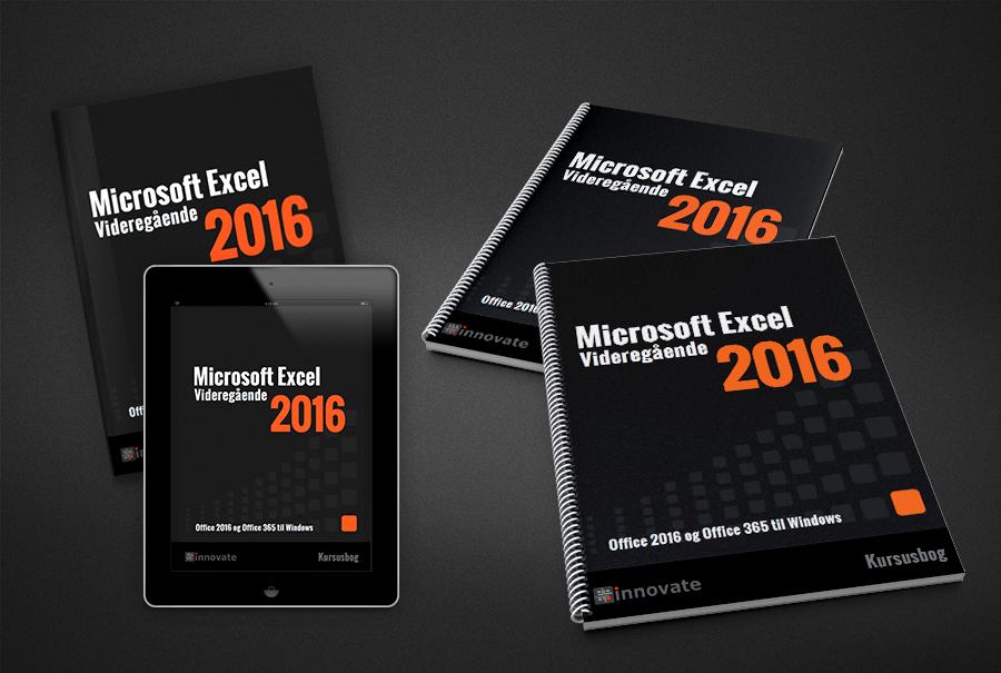 Bog og iPad og kursusmateriale - Excel 2016 Videregående