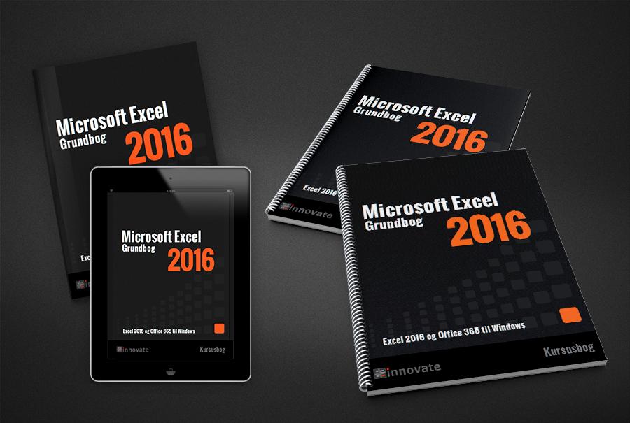 Bog og iPad og kursusmateriale - Excel 2016